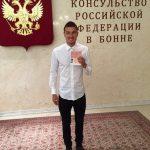 После получения российского паспорта Романа